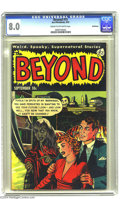 Golden Age (1938-1955):Horror, The Beyond #15 Bethlehem pedigree (Ace, 1952) CGC VF 8.0 Cream tooff-white pages. This is the only copy of this issue that ...