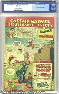 Golden Age (1938-1955):Miscellaneous, Captain Marvel and the Lieutenants of Safety #2 (Fawcett, 1950) CGC NM- 9.2 Off-white to white pages. Overstreet doesn't eve...