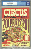 Golden Age (1938-1955):Humor, Circus the Comic Riot #1 (Globe Syndicate, 1938) CGC VF+ 8.5 Cream to off-white pages. This key number one issue features so...
