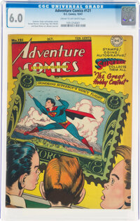 Adventure Comics #121 (DC, 1947) CGC FN 6.0 Cream to off-white pages