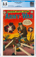 Golden Age (1938-1955):War, Our Army at War #1 (DC, 1952) CGC VG- 3.5 Off-white pages....
