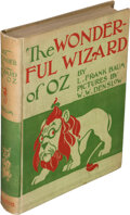 Books:Children's Books, L. Frank Baum. The Wonderful Wizard of Oz. With Pictures by W. W. Denslow. Chicago & New York: Geo. M. Hill, 1900. F...