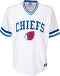 Baseball Collectibles:Uniforms, 2012 Bryce Harper Game Worn Syracuse Chiefs AAA Debut Jersey with Team Letter Photo Matched to 4/5, MEARS A10. ...