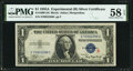 Small Size:Silver Certificates, Fr. 1609 $1 1935A R Silver Certificate. PMG Choice About Unc 58 EPQ.. ...