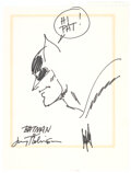Original Comic Art:Illustrations, Jerry Robinson - Batman Illustration Original Art (undated)....