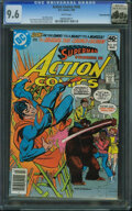 Modern Age (1980-Present):Superhero, Action Comics #505 - Rocky Mountain (DC, 1980) CGC NM+ 9.6 White pages.