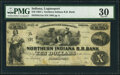 Obsoletes By State:Indiana, Logansport, IN-Northern Indiana R.R. Bank $10 1850s PMG Very Fine 30.. ...