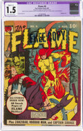 Golden Age (1938-1955):Superhero, The Flame #6 (Fox, 1941) CGC Apparent FR/GD 1.5 Slight (C-1) Slightly brittle pages....