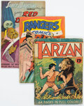 Golden Age (1938-1955):Miscellaneous, Golden and Silver Age Comics Group of 8 (Various Publishers, 1940s-60s).... (Total: 8 Comic Books)