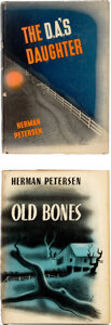 Books:Mystery & Detective Fiction, Herman Petersen. Two Bloodhound Mysteries. New York: Duell, Sloan and Pearce, 1943. First Edition. ... (Total: 2 Items)