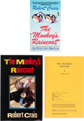 Books:Mystery & Detective Fiction, Robert Crais. The Monkey's Raincoat. New York: Bantam Books, [1987]. Uncorrected Page Proofs of the first editio... (Total: 3 )