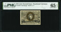 Fr. 1318 50¢ Second Issue PMG Gem Uncirculated 65 EPQ