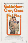 """Movie Posters:Comedy, Foul Play (Paramount, 1978). Folded, Very Fine. One Sheet (27"""" X 41"""") & Lobby Cards (6) (11"""" X 14"""") Birney Lettick Artwork. ... (Total: 7 Items)"""