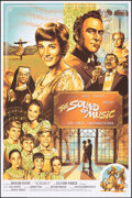 """Movie Posters:Academy Award Winners, The Sound of Music (Hero Complex Gallery, 2017). Rolled, Near Mint-. Hand Numbered Limited Edition Screen Print Poster (24"""" ..."""