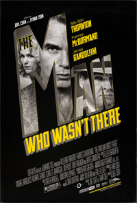 """The Man Who Wasn't There & Other Lot (USA Films, 2001). Rolled, Very Fine. One Sheets (2) (27"""" X 40"""") DS..."""