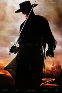 """The Legend of Zorro (Columbia, 2005). Rolled, Very Fine/Near Mint. One Sheets (2) (26.75"""" X 39.75"""") DS Advance..."""