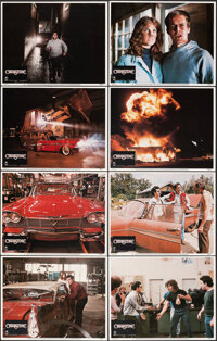 """Christine (Columbia, 1983). Overall: Very Fine+. Lobby Card Set of 8 (11"""" X 14""""). Horror. ... (Total: 8 Items)"""