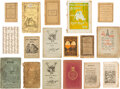 Books:Children's Books, Group of Seventeen Assorted Chapbooks. Ca. 1800s. Including first editions and first printings and text in Danish, German, a... (Total: 17 Items)