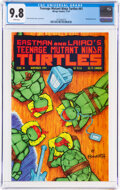 Modern Age (1980-Present):Superhero, Teenage Mutant Ninja Turtles #41 (Mirage Studios, 1991) CGC NM/MT 9.8 White pages....