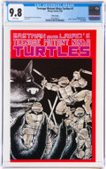 Modern Age (1980-Present):Alternative/Underground, Teenage Mutant Ninja Turtles #1 Fifth Printing (Mirage Studios, 1988) CGC NM/MT 9.8 White pages....