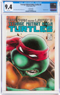 Modern Age (1980-Present):Alternative/Underground, Teenage Mutant Ninja Turtles #5 Second Printing (Mirage Studios, 1987) CGC NM 9.4 White pages....
