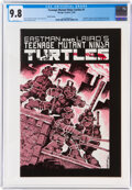 Modern Age (1980-Present):Alternative/Underground, Teenage Mutant Ninja Turtles #1 Third Printing (Mirage Studios, 1985) CGC NM/MT 9.8 White pages....