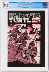 Teenage Mutant Ninja Turtles #1 Third Printing (Mirage Studios, 1985) CGC NM- 9.2 White pages