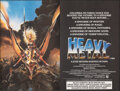 "Movie Posters:Animation, Heavy Metal (Columbia-EMI-Warner, 1981). Rolled, Very Fine. British Quad (30"" X 40"") Chris Achilleos Artwork. Animation.. ..."