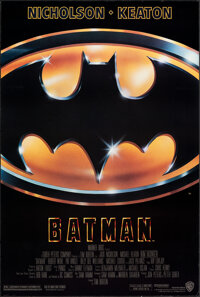 """Batman (Warner Bros., 1989). Rolled, Very Fine+. One Sheet (27"""" X 40.25"""") SS Style D. Action"""
