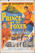 "Movie Posters:Adventure, Prince of Foxes (20th Century Fox, 1949). Folded, Fine/Very Fine. One Sheet (27"" X 41"") & Lobby Card Set of 8 (11"" X 14""). A... (Total: 9 Items)"