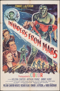 """Invaders from Mars (20th Century Fox, 1953). Folded, Fine+. One Sheet (27"""" X 41""""). Science Fiction"""