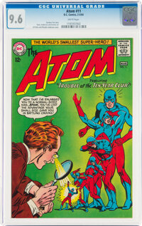 The Atom #11 (DC, 1964) CGC NM+ 9.6 White pages