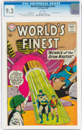 Silver Age (1956-1969):Superhero, World's Finest Comics #101 (DC, 1959) CGC NM- 9.2 White pages....