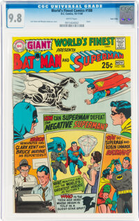 World's Finest Comics #188 Twin Cities pedigree (DC, 1969) CGC NM/MT 9.8 White pages