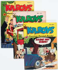 The Kilroys Group of 7 (ACG, 1947-49).... (Total: 7 )