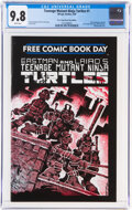 Modern Age (1980-Present):Alternative/Underground, Teenage Mutant Ninja Turtles #1 Free Comic Book Day Edition (Mirage Studios, 2009) CGC NM/MT 9.8 White pages....