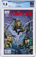 Modern Age (1980-Present):Superhero, Teenage Mutant Ninja Turtles #1 Retailer Incentive (IDW Publishing, 2011) CGC NM/MT 9.8 White pages....