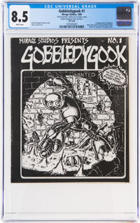 Gobbledygook #1 File Copy (Mirage Studios, 1984) CGC VF+ 8.5 White pages