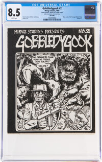 Gobbledygook #2 File Copy (Mirage Studios, 1984) CGC VF+ 8.5 White pages