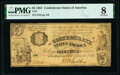 Confederate Notes:1861 Issues, T35 $5 1861 PF-1 Cr. 271 PMG Very Good 8.. ...