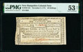 Colonial Notes:New Hampshire, New Hampshire November 3, 1775 40s PMG About Uncirculated 53 Net.. ...