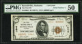 National Bank Notes:Alabama, Russellville, AL - $5 1929 Ty. 2 The First National Bank Ch. # 11846 PMG About Uncirculated 50.. ...