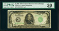 Small Size:Federal Reserve Notes, Fr. 2211-G* $1,000 1934 Federal Reserve Note. PMG Very Fine 30.. ...