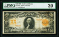 Large Size:Gold Certificates, Fr. 1183* $20 1906 Gold Certificate PMG Very Fine 20.. ...