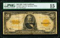Large Size:Gold Certificates, Fr. 1200* $50 1922 Gold Certificate PMG Choice Fine 15.. ...