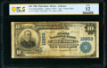 Rector, AR - $10 1902 Plain Back Fr. 632 The First National Bank Ch. # 10853 PCGS Banknote Fine 12