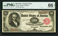 Fr. 375 $20 1891 Treasury Note PMG Gem Uncirculated 66 EPQ