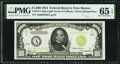 Small Size:Federal Reserve Notes, Fr. 2211-A $1,000 1934 Light Green Seal Federal Reserve Note. PMG Gem Uncirculated 65 EPQ.. ...