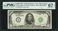 Fr. 2211-I $1,000 1934 Mule Federal Reserve Note. PMG Superb Gem Unc 67 EPQ