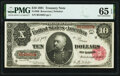 Fr. 369 $10 1891 Treasury Note PMG Gem Uncirculated 65 EPQ